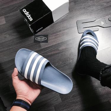 Hàng Chính Hãng Dép Adidas Adilette Aqua Slides Indigo ( New Season 5* ) Hot
