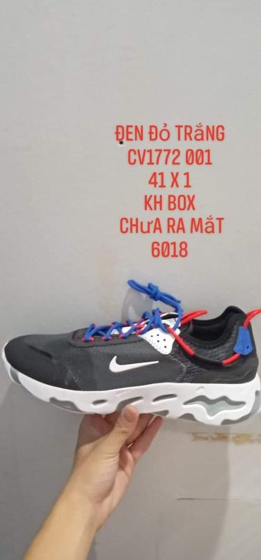 Hàng Chính Hãng Nike Air Type N.354 Black/Blue/Red 2021**