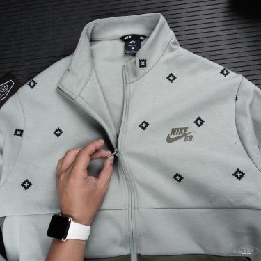 Hàng Chính Hãng Áo Khoác Jacket Nike SB Dri-Fit Printed Skate Green  2020**