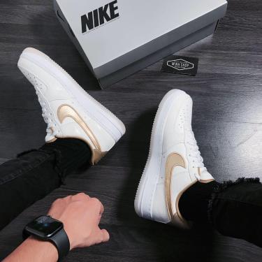 Hàng Chính Hãng Nike Air Force 1 Low Worldwide Katakana Gold 2020** V