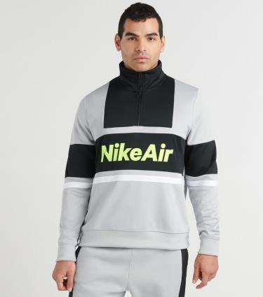 Hàng Chính Hãng Áo Khoác Nike Air Jacket Half-Zip PK Gray 2021**