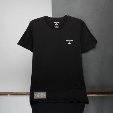 Hàng Chính Hãng Áo Thun Superdry Black/White LOGO