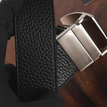 Hàng Chính Hãng Leather Belt Coach Black/Brown Cut-To-Size Reversible 2020**