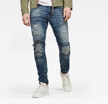 Hàng Chính Hãng Quần Jeans G-Star Raw  Zip Knee  2021**