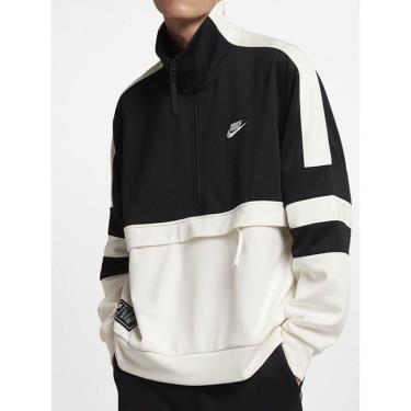 BEST SALE - ONLY 2  ~~ Hàng Chính Hãng Áo Khoác Nike Air Jacket Half-Zip Black/White 2021** ÁP DỤNG CK [AR1840 010]