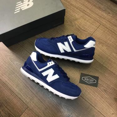Hàng Chính Hãng NewBalance 574 Blue/White 2021**
