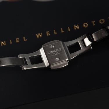 Đồng Hồ DW Iconic Link Lumine Rose Gold / Silver White Watch ** [DW00100359]