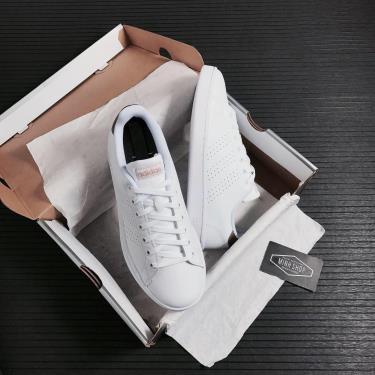 Hàng Chính Hãng Adidas Advantage White/Gold 2021**