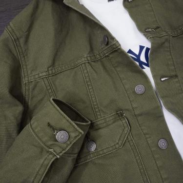 Hàng Chính Hãng Áo Khoác Jeans Levis Dark Green 2019**