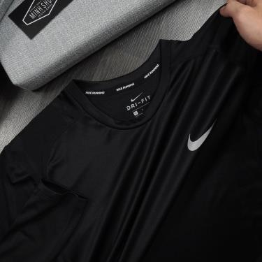 Hàng Chính Hãng Áo Thun Nike Running Dri-Fit Black 2020**