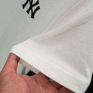 Hàng Chính Hãng Áo Thun MLB NY Big Logo White/Black V2 2021**