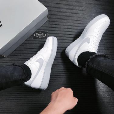 Hàng Chính Hãng Nike Air Force 1 '07 'White Grey Sole' 2021**