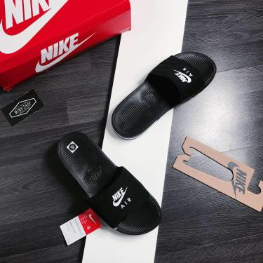Hàng Chính Hãng Dép Nike Air Max Camden Black/White 2020**