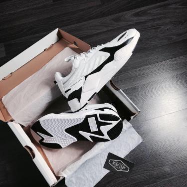 Hàng Chính Hãng Puma RS-X White/Black 2020**