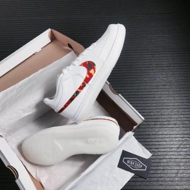 -850K Hàng Chính Hãng Nike Sky Force 3/4 White Red Camo Swoosh 2021**