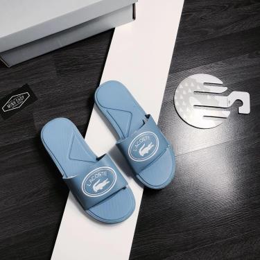 Hàng Chính Hãng Dép Lacoste Slide  Blue 2020**