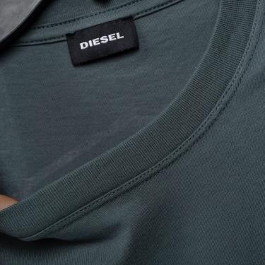 Hàng Chính Hãng Áo Thun Diesel Grey Blue 2021**