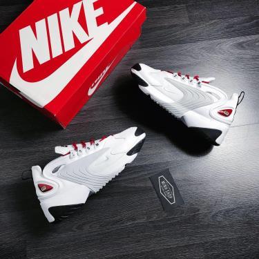 Hàng Chính Hãng Nike Zoom 2K White/Grey/Red 2020**