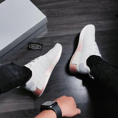 Hàng Chính Hãng Adidas NMD_R1 'Grey Gold' 2020**