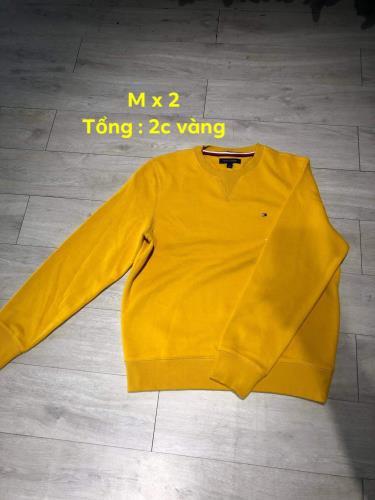 Hàng Chính Hãng Áo Sweater Tommy Yellow 2019**