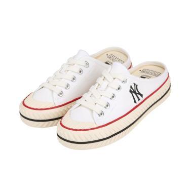 💥💥 THE Last Giày MLB PlayBall Origin Mule York Yankees Shoes White SS NEW ** [32SHS1111-50W] [O]