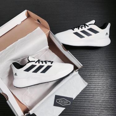 -50% 48H 💲 Giày Adidas Edge Bounce Gameday White/Black** EH3369 [ O ]