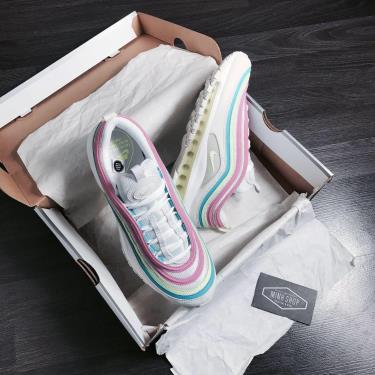 Hàng Chính Hãng Nike Air Max 97 White Neon 2020**XX