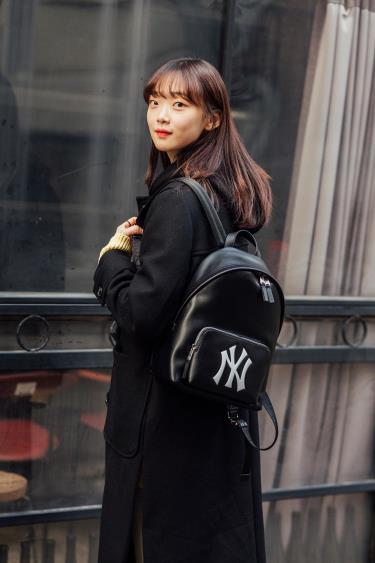 Hàng Chính Hãng Balo MLB New York Yankees Black 2021**
