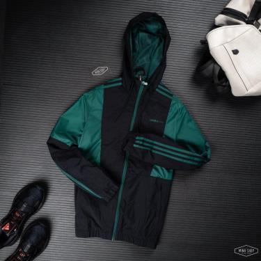Áo Khoác Adidas Black/Green *