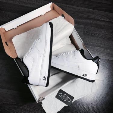 Hàng Chính Hãng Nike Air Force 1 '07 White/Black 2020**