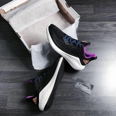 50% OFF MẠNH Hàng Chính Hãng Adidas Alphabounce Plus Black/Orange LOGO 2020**