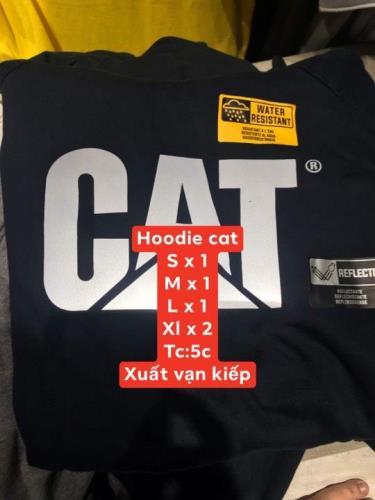 Hàng Chính Hãng Áo Hoodie CAT Navy 2019**