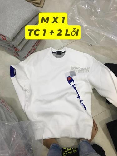 Hàng Chính Hãng Áo Sweater Champion White 2019**