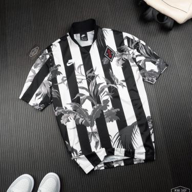 Hàng Chính Hãng Áo Thun Nike NSW Floral Football Black/ White 2021**
