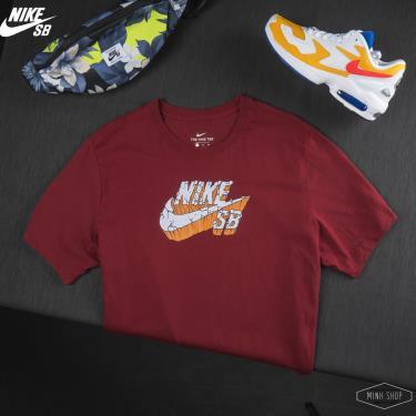 Hàng Chính Hãng Áo Thun Nike SB  Burgundy  2020**