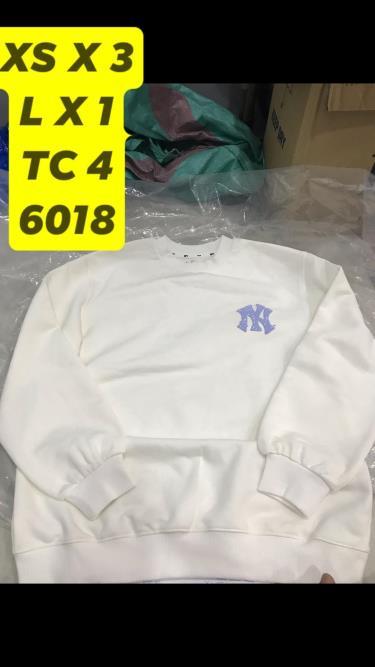 Hàng Chính Hãng Áo Sweater MLB Like White 2019**