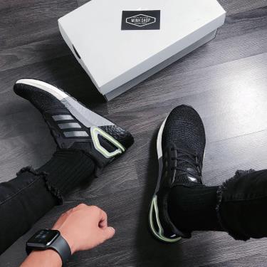 """Hàng Chính Hãng Adidas Ultra Boost 6.0 Black /Grey/Mint 2020* """"New"""""""