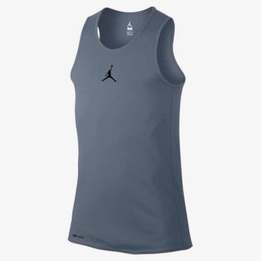 Hàng Chính Hãng Áo Nike Jordan  Tank Top Logo Vest In Grey 2020**