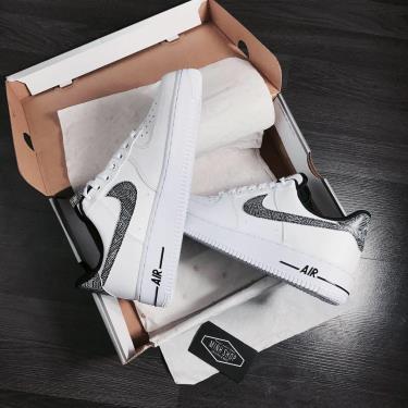 Hàng Chính Hãng Nike Air Force 1 '07 White Metallic Silver 2020** V