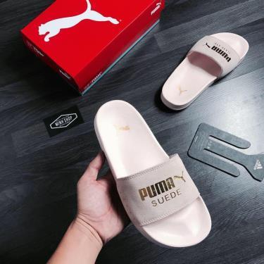 FLASH EVENT 70% Hàng Chính Hãng Dép Puma Suede Leadcat Sandals  Light Pink Y 2020**