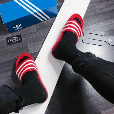 Hàng Chính Hãng Dép Adidas Adilette Red/white 2020**