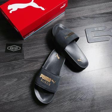 FLASH EVENT 70% OFF Today Dép Puma Suede Leadcat Sandals Grey  Black Y 2020**