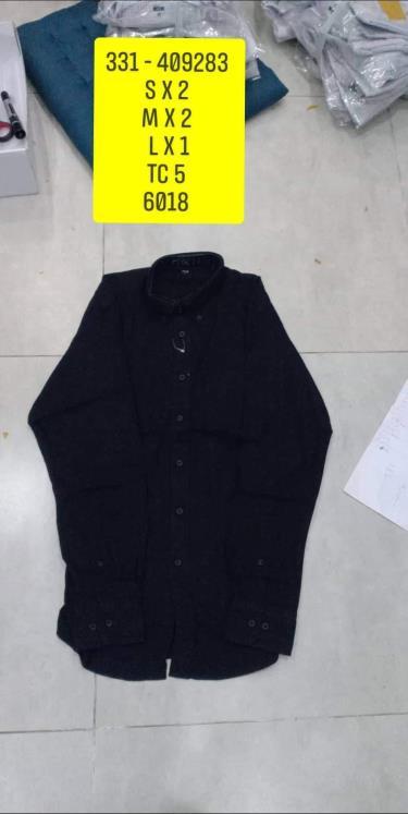 Hàng Chính Hãng Áo Uniqlo Flannel Long Sleeve Shirt Black 2020**
