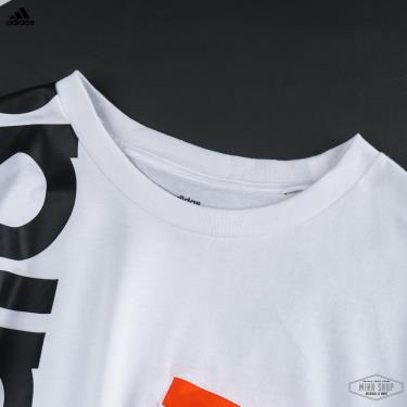 Hàng Chính Hãng Áo Thun Adidas White/Black 2020**