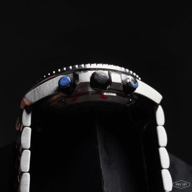 Hàng Chính Hãng Hugo Boss Chronograph Vela Blue/Silver Watch 2021**