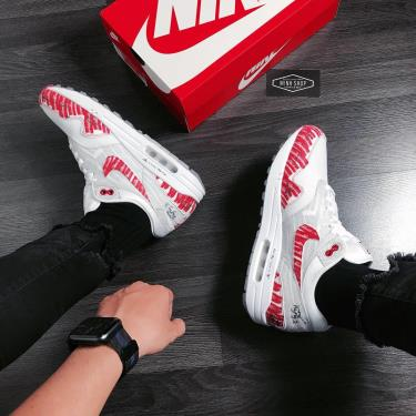 Hàng Chính Hãng Nike Air Max 1 'Sketch To Shelf  University Red' 2021** V