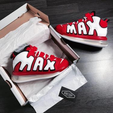 Hàng Chính Hãng  Nike Air More Uptempo 720 University Red  2020**