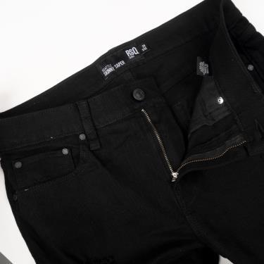 Quần Jeans RSQ Skinny Ripped Black **