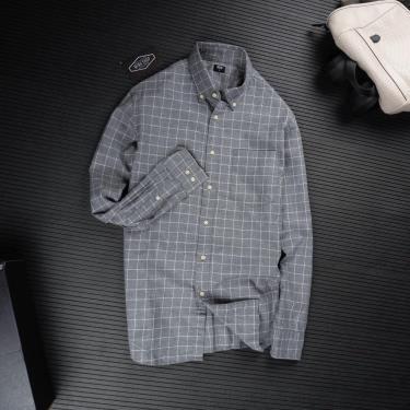 ao-so-mi-uniqlo-flannel-long-sleeve-shirt-grey-caro-331-411902