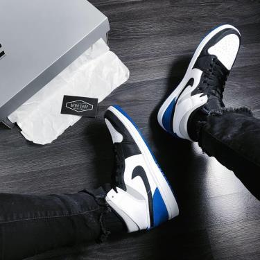 Giày Nike Jordan 1 Mid SE Game Royal V ** [852542 102]